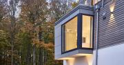 Designhaus Modern House Mehrblick - Timber home