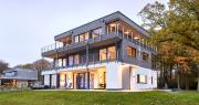 Design-Holzhaus Modern House Mehrblick - Timber home