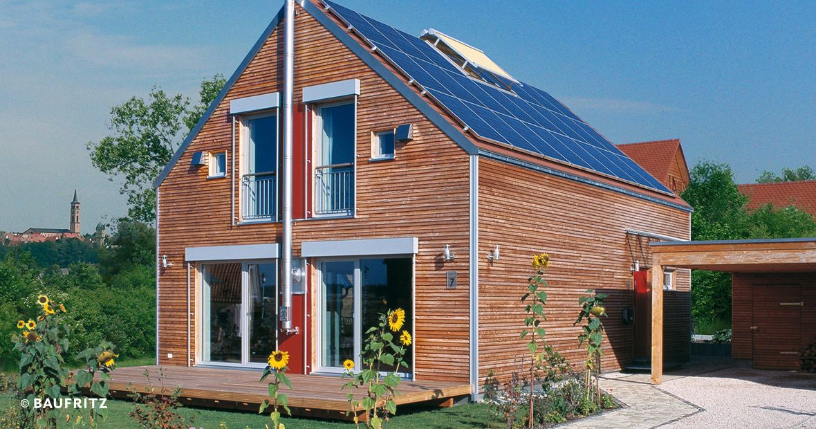 Plus-Energie-Haus Plus Energy House Roth - Prefabricated house
