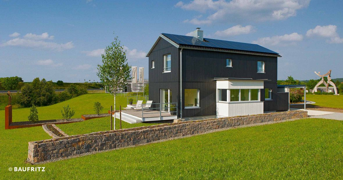 Show house s1 energy self sufficient house for Self sufficient house plans