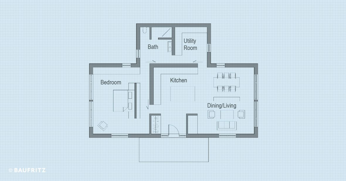 Floor Plans Single Storey Home Bowles Baufritz