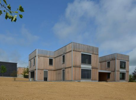 Another Baufritz House in Hampshire Complete