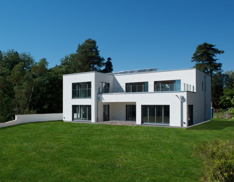 Baufritz House in Berkshire Complete