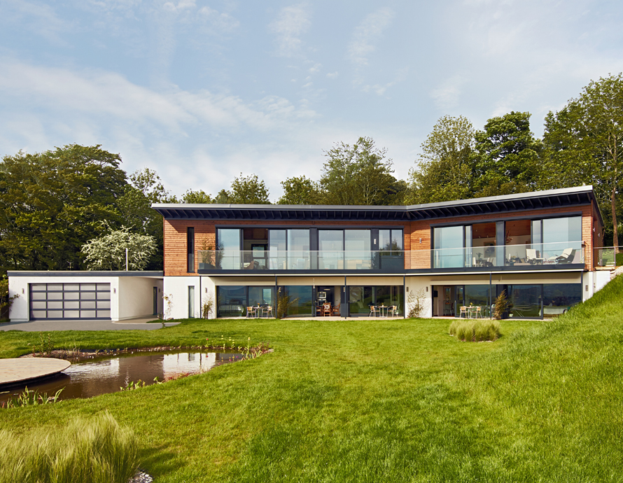 Baufritz House in East Sussex Complete