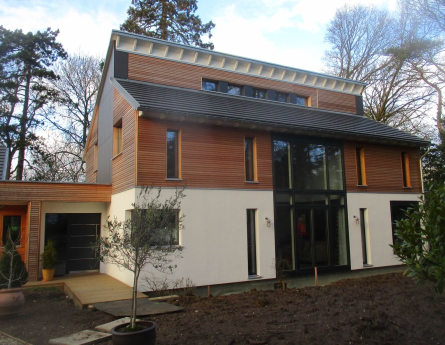 Baufritz House in Suffolk Complete