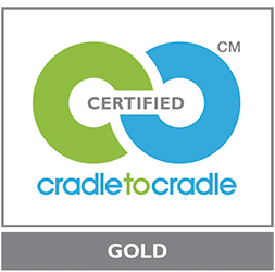 Certified cradle to cradle GOLD