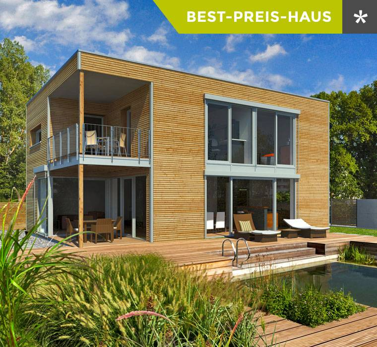 Individuelle architektenh user aus holz koh user in for Hausbau moderner baustil