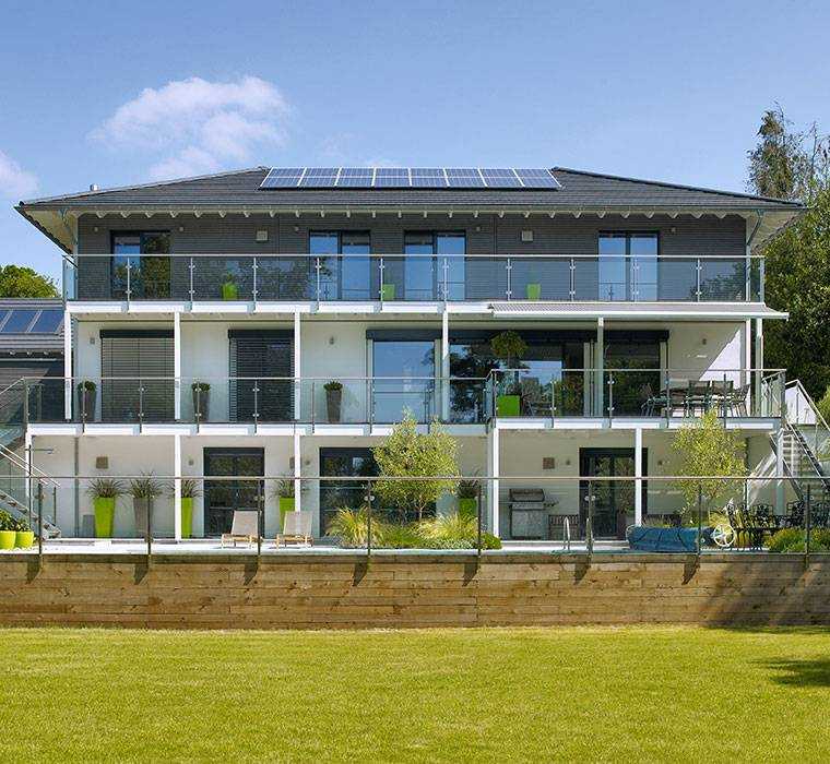 modern house home designs by baufritz eco friendly sustainable