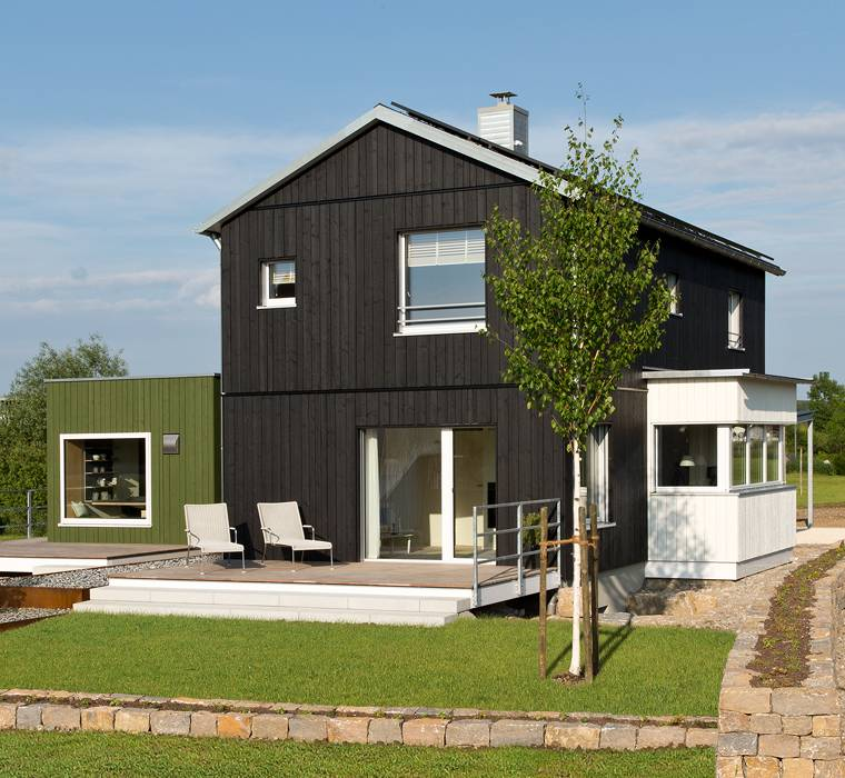 Wondrous Modular Home Extension Timber Frame Homes Baufritz Uk Home Remodeling Inspirations Cosmcuboardxyz