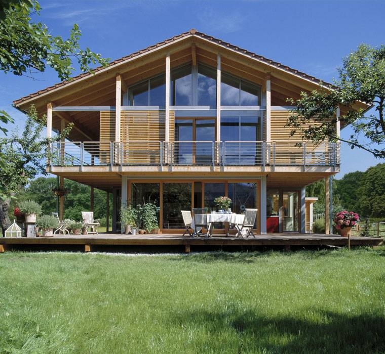 Alpenchic the modern chalet style home for Chalet modern bauen